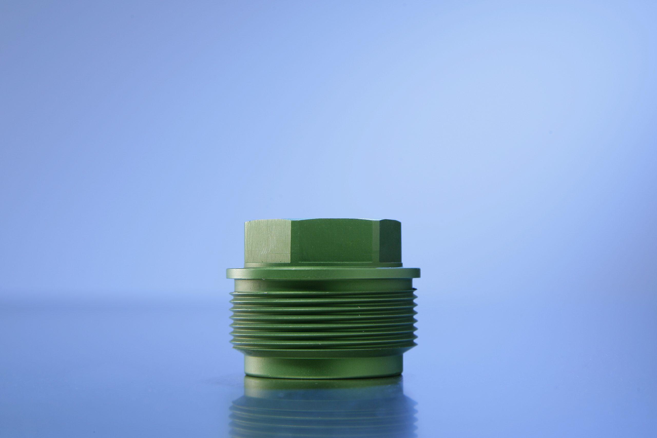 Kleur anodiseren groen