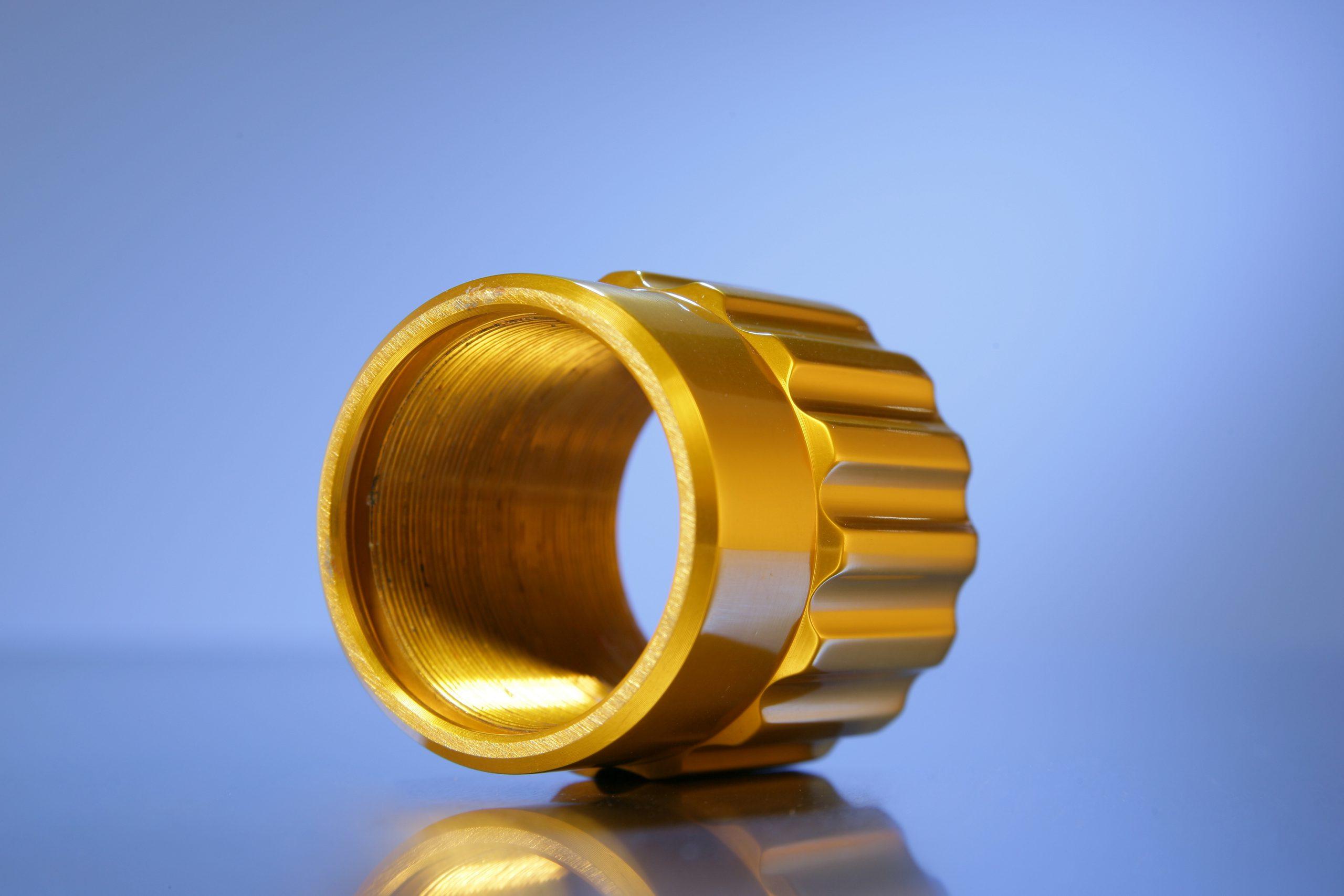 Kleur anodiseren goud